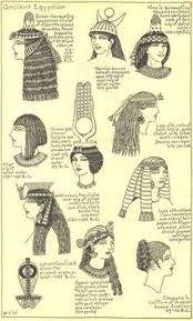 information on egyptain hairstlyes for and pharaoh queen slave egyptians egypt egypt pinterest