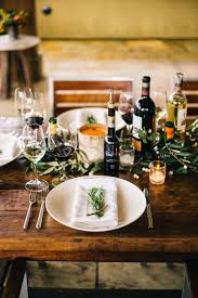 How To Set A Table For Dinner by How To Set A Wine Country Inspired Thanksgiving Table The Taste Sf