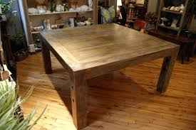rustic square dining table rustic 60 square dining table yamacraw org