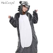 aliexpress buy timber wolf pajama set onesie for