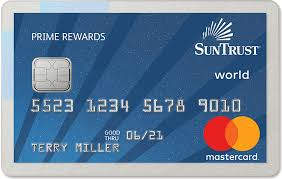 prepaid credit cards with no fees prime rewards no fee credit card suntrust personal banking