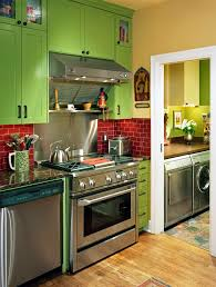 green kitchen canisters kitchen contemporary with stainless steel