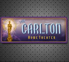 home theater personalized sign movie cinema wall art home
