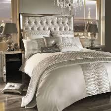 kylie minogue atmosphere cream satin 200tc double 9 piece bedding set