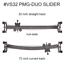 vs32 pmg duo 32 inch video slider carrying case interview slider