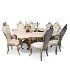Aico Furniture Dining Room Sets Platine De Royale Square Dining Room Set Chagne Aico