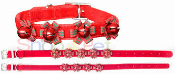 ancol velvet collars with jingle bells can be used