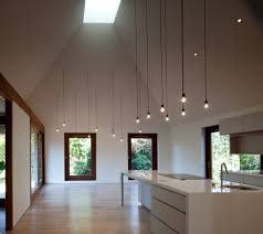 Light Fixtures For High Ceilings Cords Lighting Simple Design But With A Big Impact