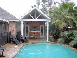 Pool Houses And Cabanas Pool Houses Cabanas U0026 Outdoor Kitchens E C O Builders