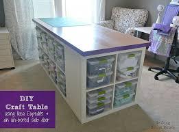 diy craft table ikea diy craft table hometalk