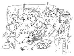 awesome christmas penguin coloring pages ideas printable