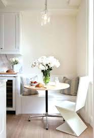 table de cuisine contemporaine table cuisine contemporaine bois banquette decoration d on concrete