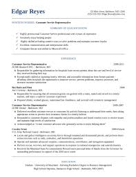 free customer service resume template resume template and