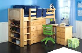 Bunk Bed With Desk And Drawers Childrens Loft Bed With Desk Ianwalksamerica