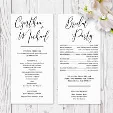 Printing Wedding Programs Wedding Order Of Service Booklets Peach Perfect