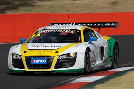 audi r8 lms locks out first row at bathurst quattroworld