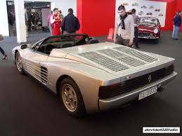 classic ferrari testarossa an example of the testarossa spider ferrari didn u0027t want to build