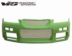 1998 2002 honda accord 4dr r34 front bumper vis racing sports inc
