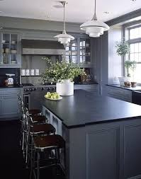 gray kitchen cabinets with black counter medium grey cabinets black counter probably too much grey i