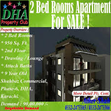 tiny 2 apartments 950 square feet square feet apartment for sale in dha