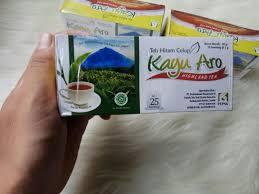 Teh Kayu Aro teh hitam kayu aro celup