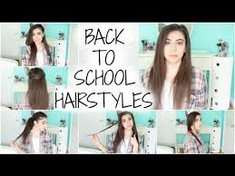 easy hairstyles for school with pictures 6 marvellous easy hairstyles school harvardsol com