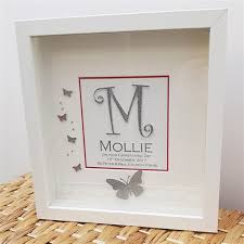 christening gifts personalised christening frame for baby personalised christening