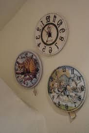Alice In Wonderland Home Decor Unique Than Ever 41 Best Alice In Wonderland Backwards Clock Images On Pinterest