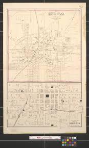 Washington County Map Gray U0027s New Map Of Brenham Washington County Texas The Portal