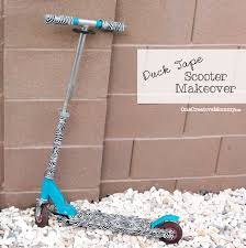 duck tape scooter makeover what to do when your barbie loving kid