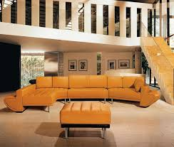 jupiter ultra modern leather sectional sofa set