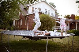 Best Backyard Trampolines Whatever Last Day Of Summer F U N