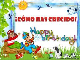 imagenes cumpleaños niños mensajes de cumpleaños para niños tarjetas musicales de cumpleaños