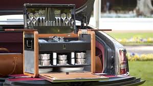 picnic basket set for 2 rolls royce picnic post oak motor cars ltd houston