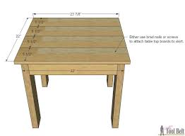 Building Outdoor Furniture What Wood To Use by Simple Kid U0027s Table And Chair Set Her Tool Belt