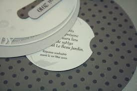 faire part mariage rond faire part ronds gris une pointe d épices