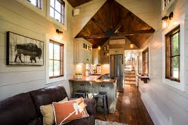Living Big In A Tiny House by Spacious Living Room In The Denali By Timbercrafttinyhomes Com