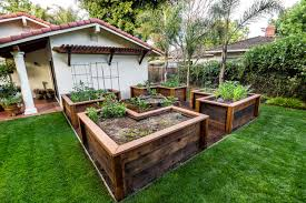 lovable raised vegetable garden boxes diy stacked herb garden
