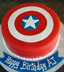 superheroes party ideas avengers fondant cake ideas american