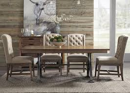 trestle table with metal base by liberty furniture wolf and