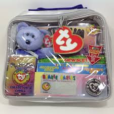ty beanie babies official club membership kit 1st edition clubby