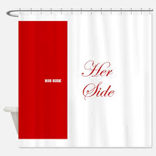 Curtain Side Material His Side Her Side Shower Curtains His Side Her Side Fabric