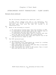chapter 06 intercompany profit transactions plant assets