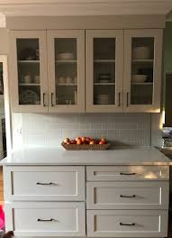 kitchen glass shaker cabinets white shaker kitchen glass cabinet doors page 1 line