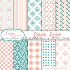 free digital paper pack dear set by lianascrap on deviantart