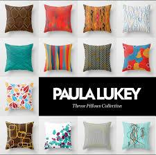 Modern Throw Pillows For Sofa Decorative Pillows Modern Crimson Waterpolo
