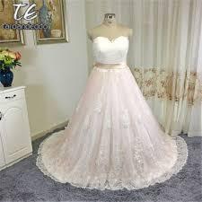 online get cheap blush wedding dress sweetheart tulle aliexpress