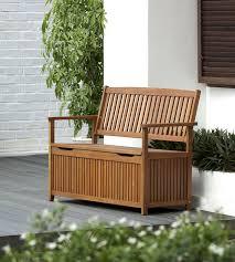 Outdoor Storage Bench Waterproof Chichester Fsc Eucalyptus Wood Outdoor 2 Seater Storage Bench