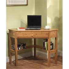 furniture chic corner wood computer desk for efficient space
