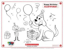clifford the big red dog coloring pages bebo pandco